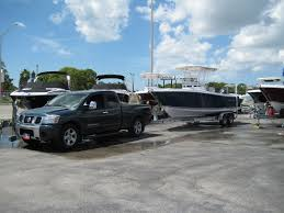 nissan titan camper anyone tow heavy with a titan the hull truth boating and