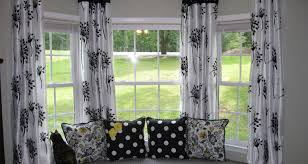 20 Kitchen Curtains And Window Curtains Intrigue White Black Yellow Curtains Brilliant Black