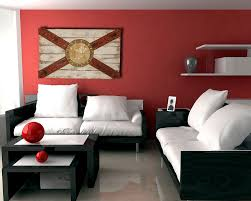 Home Decor Florida Handmade Distressed Wooden Florida Flag Vintage Art Distressed