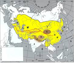 Asia Map Labeled by Map Quiz Chapter 8 Asia