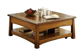 brown square coffee table craftsman square lift top coffee table riverside frontroom