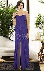 regency purple bridesmaid dresses a line sweetheart neck chiffon floor length regency bridesmaid