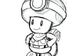 Coloriage Capitaine toad Captain toad Treasure Tracker Games