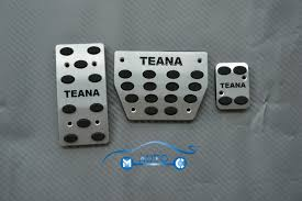nissan teana 2008 at fuel brake foot rest pedals set for nissan teana 2008 2012 09