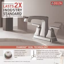 Pex To Faucet Connection Delta Faucet 2564 Ssmpu Dst Ashlyn Brilliance Stainless Two Handle