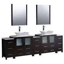 Double Vanity Basins Double Sink Bathroom Vanities Bath The Home Depot