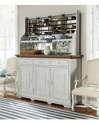 great deals on paula deen dogwood credenza with complete wine rack