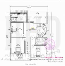 Square Floor Plans For Homes Free Floor Plan And Elevation Of 2927 Square Feet 5 Bhk