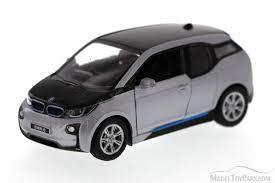 bmw model car bmw i3 silver kinsmart 5380d 1 32 scale diecast model car