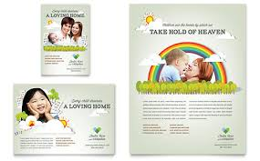 Home Care Website Design Inspiration Nursery Flyer Design Inspiration Pinterest Foster Care