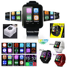 best u8 smart watch wrist watch working call phone bluetooth for