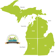 Map Of Michigan Lakes Find The Perfect 5 Star Michigan Bed And Breakfast Getaway