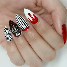 cute halloween nail art designs