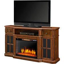 muskoka sinclair 60 u201d media fireplace with led lights and bluetooth