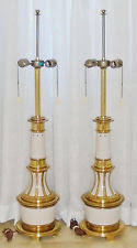 Library Table Lamps Brass Hollywood Regency Antique Lamps Ebay