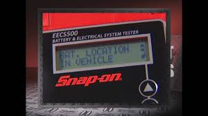 snap on eecs500 accutester youtube