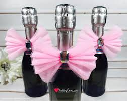 wine bottle favors chagne favor etsy