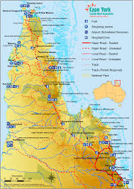 Australian Outback Map Ultimate 11 Day Cape York Camping Fly Drive Safari Nw