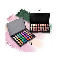 matte shadow makeup sets 40 color smoky eyeshadow glitter