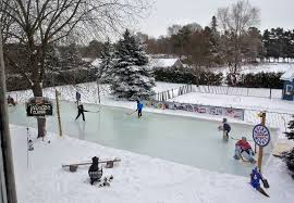 How To Make An Ice Rink In Your Backyard Backyard Ice Rinks Backyard Rink Iron Sleek Inc