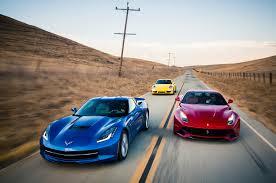 Ferrari F12 2018 - head 2 head video ferrari f12 corvette stingray porsche 911 c4s