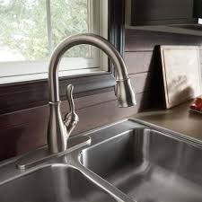 leland delta kitchen faucet delta faucet 9178 ar dst review best pull kitchen faucet