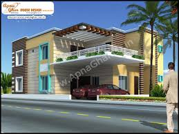 5 bedroom modern duplex 2 floor house design area 247m2 19m