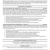 Bookkeeper Resume Sample by Simple Bookkeeper Resume Format Sample With Objective And Skills