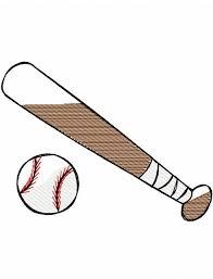 baseball bat and ball sketch embroidery design jazzy zebra designs