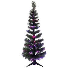 sl10 4 ft pre lit wilson fir fiber christmas tree at home at home
