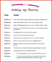 wedding itinerary template for guests wedding itinerary template sponsorship letter