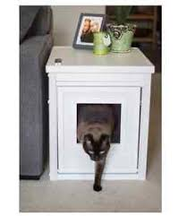 litter box side table litter box furniture hidden cat kitty bed bathroom stand side table