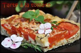 cuisine de doria tomato pie tarte à la tomate la cuisine de doria savory
