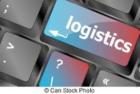 bureau logistique logistique pc concept bureau logistique vecteurs