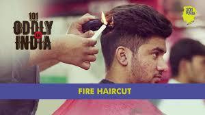 cnn haircuts fire haircut in new delhi oddly in india youtube