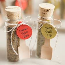 cheap wedding favor ideas make your own adorable spice dip mix wedding favors