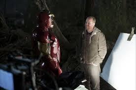 film techniques how are the iron man suit scenes filmed
