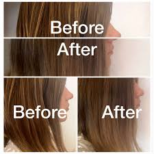 clairol shimmer lights before and after purple shoo shimmer lights by clairol on brunette ombre hair