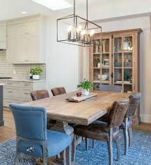 kitchen cabinets what color table our open layout kitchen and dining room makeover before and