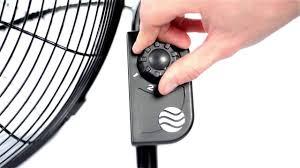 lasko fan wall mount bracket lasko 2264qm high velocity fan with quickmount youtube