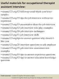 Sample Ot Resume by Top 8 Occupational Therapist Assistant Resume Samples