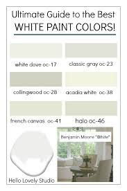 best white paint colors for walls how to choose the best white paint color every time hello