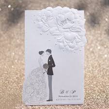 wedding cards for and groom black white embossed groom wedding invitations it 121