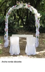location arche mariage guirlande de roses vente et location décoration mariage