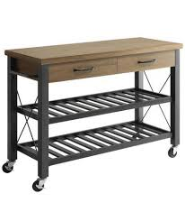 crosley furniture kitchen cart portable kitchen cart modern 6 islands real simple for 16