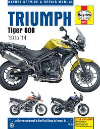 triumph tiger 800 haynes manual 2010on tiger 800xc u0026 tiger 800xr