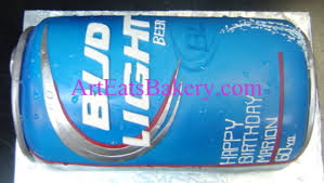 bud light beer can community 3d giant bud light beer can fondant 60th birthday cake
