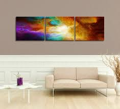 becoming triptych 3 panel abstract art canvas painting