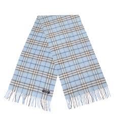 light blue burberry scarf burberry cashmere check scarf light blue 89751