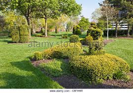 Columbus Topiary Garden - topiary animals stock photos u0026 topiary animals stock images alamy